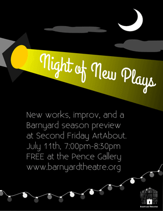 Night of New Plays Poster